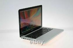 13 Apple MacBook Pro UPGRADED 1TB SSD-Hybrid 8GB Memory Osx-2015 3Yr Warranty