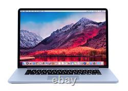 15 Apple MacBook Pro RETINA OS-2018 Quad Core i7 3.6Ghz 512GB SSD WARRANTY