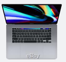 16 APPLE 2019 MACBOOK PRO 2.4GHz 8-CORE i9 4TB SSD 64GB RAM PRO 5500M 8GB