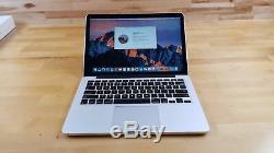 2015 MacBook Pro Retina 13 2.7GHz intel i5 128GB SSD 8GB MF839LL/A