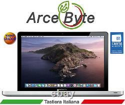 APPLE MACBOOK PRO 13 TASTIERA ITALIANA CORE i5 2.5GHZ 2012 CATALINA GRADO B