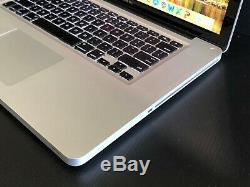 APPLE MACBOOK PRO 15 PRE-RETINA UPGRADED i7 16GB RAM + 512GB SSD WARRANTY