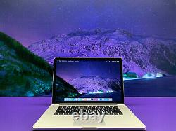 APPLE MACBOOK PRO 15 RETINA 16GB RAM 1TB SSD 3.4GHz QUAD CORE i7 LAPTOP