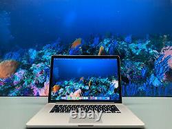 APPLE MACBOOK PRO 15 RETINA 16GB RAM 500GB SSD OS2020 QUAD CORE i7 3.4GHz