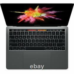 Apple 13.3 MacBook Pro Touch Bar 8GB RAM SSD Space Gray MLH12LL/A 2016