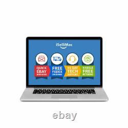 Apple 15 MacBook Pro 2015 2.2GHz Core i7 256GB SSD 16GB A1398 MJLQ2LL/A