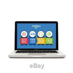 Apple 2010 MacBook Pro 13 2.4GHz Intel C2D 250GB HD 4GB RAM MC374LL/A +Warranty