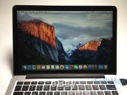 Apple 2015 MacBook Pro Retina 13 2.7GHz I5 128GB SSD 8GB MF839LL/A + B Grade