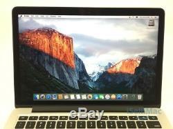 Apple 2015 MacBook Pro Retina 13 3.1GHz I7 512GB SSD 16GB MF843LL/A + A Grade