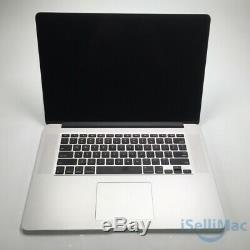 Apple 2015 MacBook Pro Retina 15 2.5GHz I7 512GB SSD 16GB MJLT2LL/A + C Grade