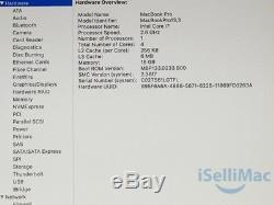 Apple 2016 Macbook Pro Retina Touch Bar 15 2.6GHz I7 256GB SSD 16GB MLH32LL/A