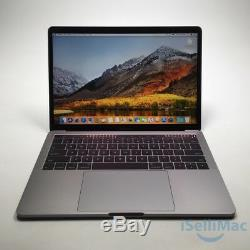 Apple 2017 Macbook Pro Retina Touch Bar 13 3.1GHz I5 256GB SSD 8GB MPXV2LL/A