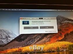 Apple MacBook Pro13 New 512GB SSD/Intel i5/New 8GB RAM/ Mac OS High Sierra 2017