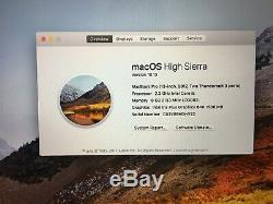 Apple MacBook Pro 13, 2.3 GHz Core i5, 8GB Ram, 128GB SSD, 2017 (Q13)