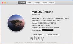 Apple MacBook Pro 13.3 2020 (512GB SSD, Intel Core i7 10th Gen, 16GB) warranty