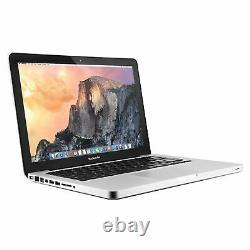 Apple MacBook Pro 13.3-Inch Intel Core i5 2.30GHz 4GB RAM 500GB HDD High Sierra