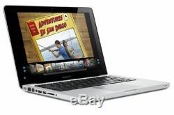 Apple MacBook Pro 13.3 Laptop Intel Core 2 Duo 2.4GHz 4GB 250GB 13 MC374LL/A