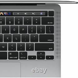 Apple MacBook Pro 13.3 M1 Chip 512GB SSD 8GB RAM Space Gray 2020 MYD92LL/A
