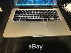 Apple MacBook Pro 13 Laptop/ 2.4Ghz /4GB ram/ 250GB HHD Mac OS High Sierra 2017