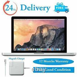 Apple MacBook Pro 13 Laptop Intel Core i5 2.5GHz 4GB RAM 500GB HDD 2012 Mojave