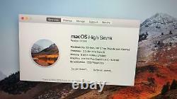 Apple MacBook Pro 13 Silver Core i5 2.3Ghz 8GB 128GB (Late 2017) A+ Grade CC 1