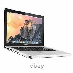 Apple MacBook Pro 13 refurbished Laptop Core i5, i7 8GB RAM 1TB HDD High Sierra