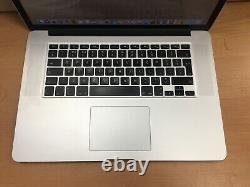 Apple MacBook Pro 15 2.0GHz Core i7, 8GB Ram, 256GB SSD, 2013 (P74)