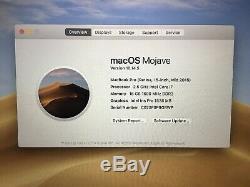 Apple MacBook Pro 15, 2.5GHz Core i7, 16GB Ram, 500GB SSD, 2015 (P64)