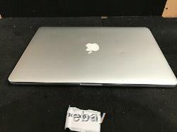Apple MacBook Pro 15.4 Retina Core i7 2.30GHz 8GB RAM 256GB SSD 2012 Read Note