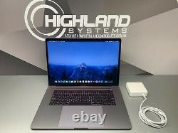 Apple MacBook Pro 15 Laptop TOUCH BAR SPACE GRAY 2017-2018 RETINA 512GB SSD
