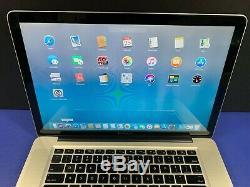 Apple MacBook Pro 15 PRE-RETINA i7 TURBO 2.9ghz 16GB RAM 1TB STORAGE OS-2017