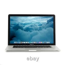 Apple MacBook Pro 15 Quad Core i7 2.2GHz 8GB 500GB 2011 B Grade