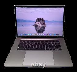 Apple MacBook Pro 15 TOUCH BAR 2017-2020 Retina Laptop 3.7GHz i7 16GB 512GB SSD