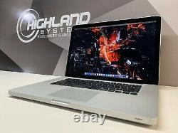 Apple MacBook Pro 15 inch / Gray / Core i7 2.6Ghz / 1TB SSD / Warranty