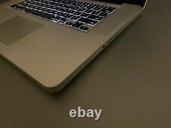 Apple MacBook Pro 15 inch Laptop / QUAD CORE i7 / 16GB RAM / MacOS2017 / 1TB SSD