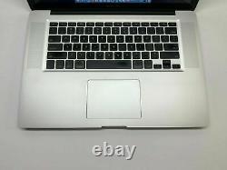 Apple MacBook Pro 15 inch Pre-Retina Laptop 2.5GHZ 500GB 3 YEAR WARRANTY