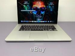 Apple MacBook Pro 15 inch RETINA i7 1TB SSD 16GB 3 YR WARRANTY OS-2015