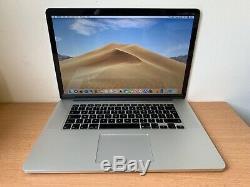 Apple MacBook Pro 15in, 2.2GHz Core i7, 16GB Ram, 256 GB SSD, 2015 (P76)