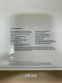 Apple MacBook Pro 16inch 2019 TouchBar 2.3GHz Core i9 16GB 1TB SSD Brand New
