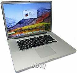 Apple MacBook Pro 17 i7 QUAD 2.4GHz-3.5GHz 16GB 2TB New SSD GDDR5 Matte Great