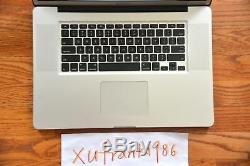Apple MacBook Pro 17 i7 QUAD Turbo 2.2GHz-3.3GHz 16GB RAM 2TB NEW SSD GDDR5