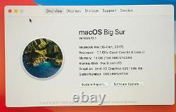Apple MacBook Pro 2017 15.4 16GB 1TB touch bar. BOXED. BIG SUR. APPLE REFURB'D