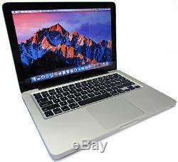 Apple MacBook Pro 8,1 13 2.4GHz Core i5 500GB 4GB Mac OS 10.11 2011 A1278