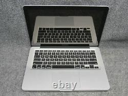 Apple MacBook Pro A1278 13 Laptop Intel Core i5-3210M 2.50GHz 4GB RAM 500GB HDD