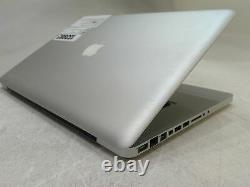 Apple MacBook Pro A1286 Core i7 2GHz 0RAM 0HD Boots Defective Radeon GPU AS-IS