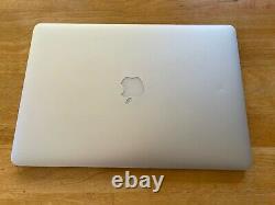 Apple MacBook Pro Retina 15.4 2.5 GHz i7 16gb 512gb Mid 2015 (a1398)