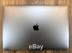 Apple MacBook Pro Space Gray 15 Touch Bar 512GB SSD 16GB RAM 2.7GHz i7 Tested