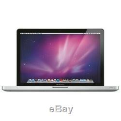 Apple MacBook Pro i7-3615QM Quad-Core 2.3GHz 6GB 500GB 15.4 GeForce GT650M
