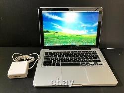 Apple Macbook 13 Pre-Retina / UPGRADED 8GB + 120GB SSD / 1 Year Warranty