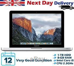 Apple Macbook Pro 13.3 Intel Core i5 2.30GHz 8GB RAM 1TB HDD A1278 High Sierra